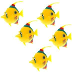 Aquarium Plastic Ocean Fish Decoration for Fish Tank Decor: Pet