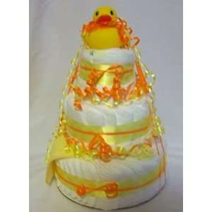 Gift Girl Gift on Baby Photo On Baby Boy Or Girl Gift Basket Shower Gift Duck Diaper