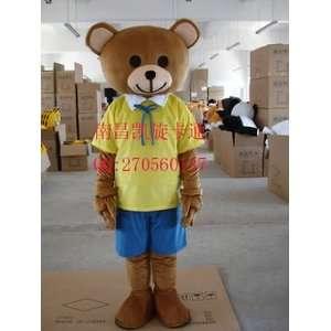 New Brown Teddy Bear Adult Mascot Costume