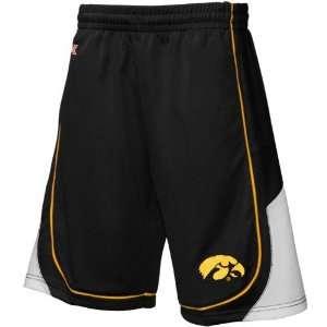 Iowa Hawkeyes Black Eliminator Basketball Shorts