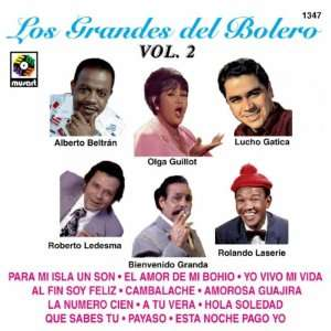 Grandes Del Bolero 2 Various Artists Music