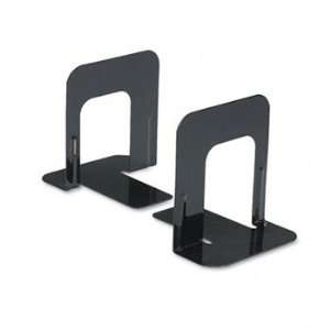UNV54051 STANDARD ECONOMY METAL BOOKENDS (6 PAIR) Office Products
