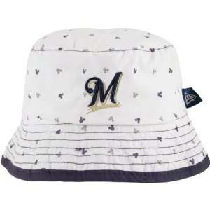 Brewers Infant White New Era Magical Bucket Hat