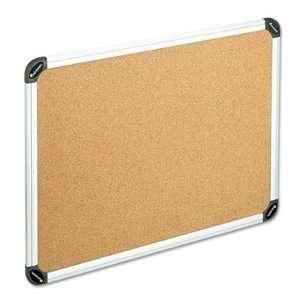 Universal Cork Bulletin Board with Aluminum Frame UNV43714