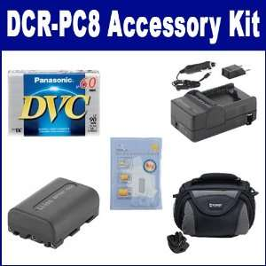 PC8 Camcorder Accessory Kit includes SDC 26 Case, SDNPFM50 Battery