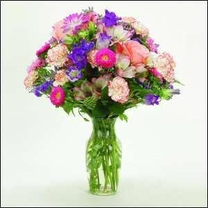 Classy Bouquet Fresh Flower Arrangement Mothers Day Gift Idea Birthday
