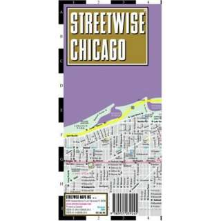 Streetwise Chicago Map   Laminated City Center Street Map