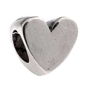 Authentic Silverado Polished Heart 925 Sterling Silver