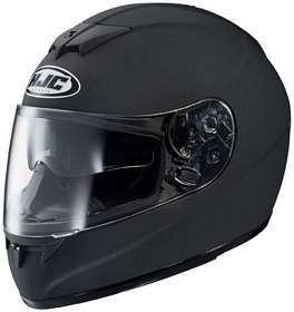HJC FS 10 FS10 MATTE BLACK MOTORCYCLE Full Face Helmet Clothing