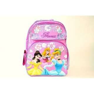 Disney Princess kids Girl Pink Backpack School Bag