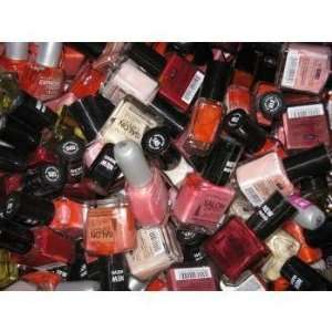 100 Assorted Color/Type Maybelline Nail Polish Case Pack