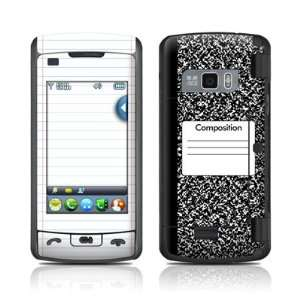 Composition Notebook Design Protective Skin Decal Cover
