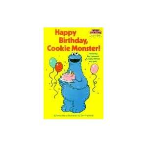 Happy Birthday Cookie Monster (Step Into Reading A Step 1 Book