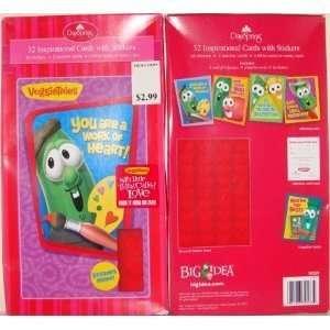 Veggie Tales Valentines Cards for Kids   Pkg. of 32