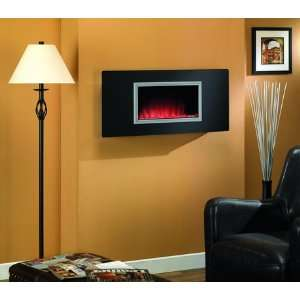 Tranquility Wall Mount Electric Fire Display w/ Heater