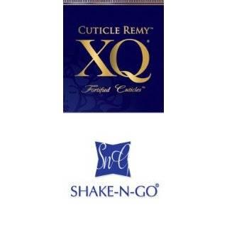 SHAKE N GO XQ CUTICLE REMY YAKY HUMAN HAIR WEAVE 12   1B