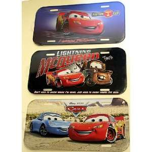 Disney Cars License Plate  Toys & Games
