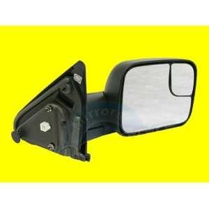 QP D223A b Dodge RAM 2500 Textured Black Heated Power Passenger Mirror