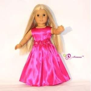 Grand Ball Fushcia Doll Dress Toys & Games