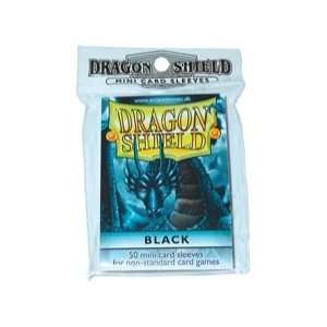 Dragon Shields: Black Mini (50): Toys & Games