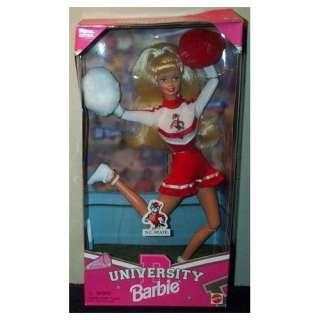 University N.C. State Barbie Cheerleader Doll Toys & Games