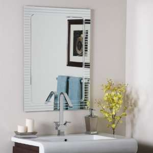 The Lines Frameless Wall Mirror