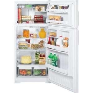 Cu. Ft. White Top Freezer Refrigerator   GTH17DBDWW