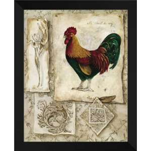 Consuelo Gamboa FRAMED Art 26x32 French Country II Home & Kitchen