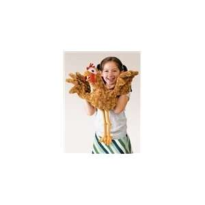 Chicken Puppet With Full Body By Folkmanis Puppets Office Products