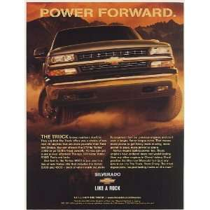 1999 Chevy Silverado Pickup Power Forward The Truck Knows