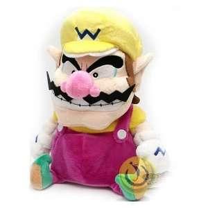 Super Mario Bros. Small Size Wario Plush Doll Toys & Games