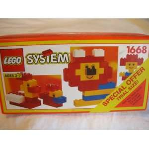 Lego Vintage Basic Building Set #1668 from 1992 Toys & Games