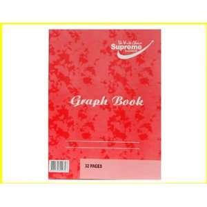 Supreme Graph Book   32 Pages Home & Kitchen