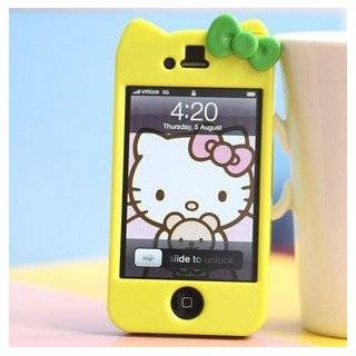 Newest iPhone 4G/4S Hello Kitty Face Hard Case/Cover/Protector