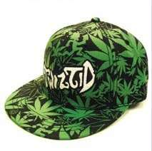 Twiztid Music Band Hat   Pot Weed Leaf Allover Logo