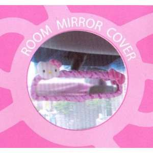 Hello Kitty Sanrio Car Rearview Mirror Cover Pink