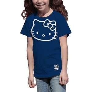 Huskies Hello Kitty Inverse Girls Crew Tee Shirt