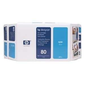 HEWLETT PACKARD 80 Cyan Value Pack 350ml 4400 Page(s) Ink