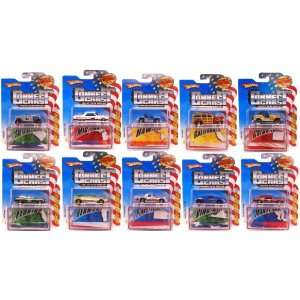 Hot Wheels Connect Cars Asst 999A 97 Case Of 10  Toys & Games