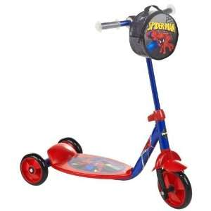 Academy Sports Huffy Boys Spider Man Classic Preschool Scooter