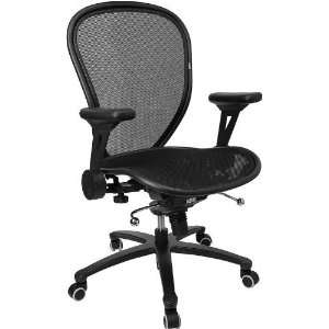 With Black Italian Leather Seat and Knee Tilt Control