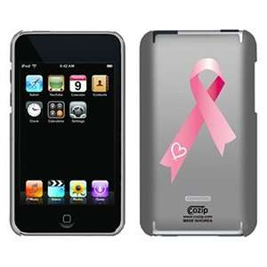 Pink Ribbon Heart on iPod Touch 2G 3G CoZip Case