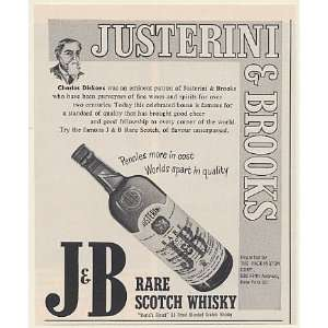 & Brooks J&B Rare Scotch Whisky Print Ad (53434)