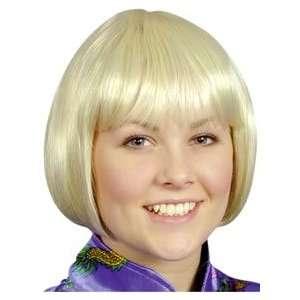Just For Fun China Doll Wig (Short Bob)   Light Blonde