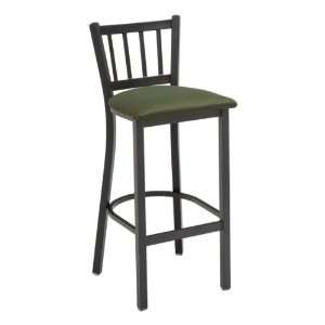 KFI Seating 3309 Series Cafe Stool   Fabric Upholstered