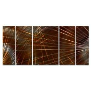 Network II Large Abstract Metal Wall Art by Artist Ash