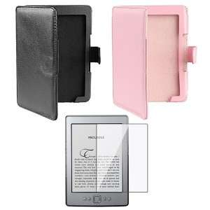 Folio Leather Case Cover for  Latest Generation Kindle