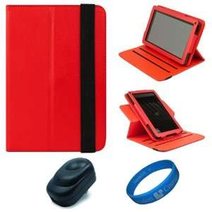 Leather Folio Case Cover with Fold to Stand Feature for  Kindle