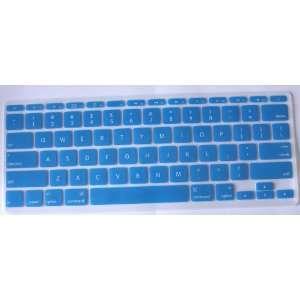 Koolshop AQUA BLUE Keyboard Silicone Cover Skin for MacBook