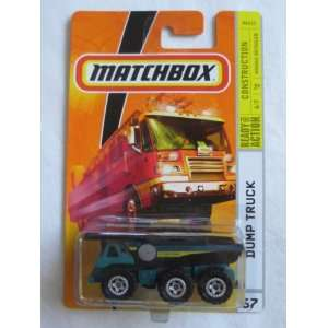 Matchbox MBX Construction #67 Dump Truck Green 164 Die